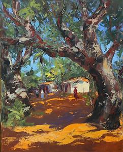 Giant_Trees_In_San_Ignacio_Nayarit_24x30_oil