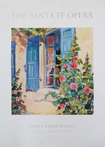 Sante Fe Poster 24x30