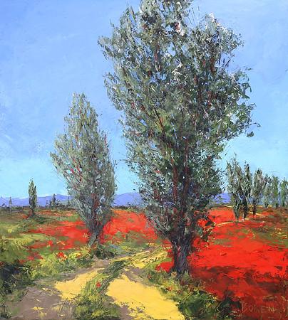Poppies_De_Provence_45X50_oil