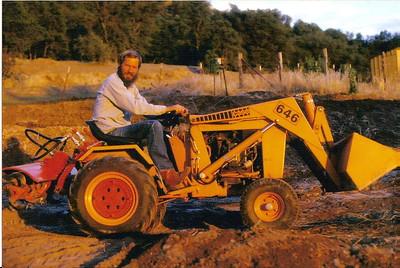 Dad On Bulldozer