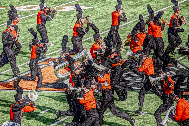 Halftime Show 2015 The Charge!