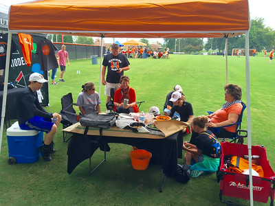 Mercer Band Parents Tailgate 2015