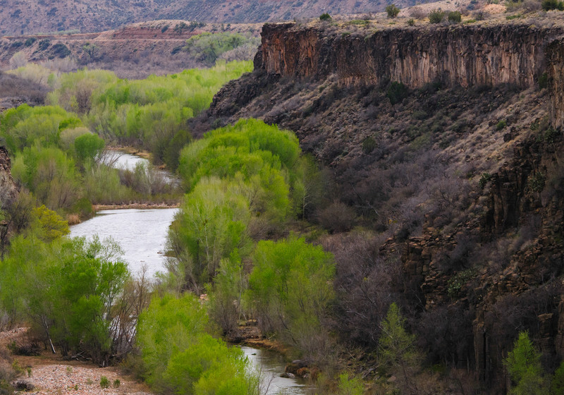 Verde Canyon and River