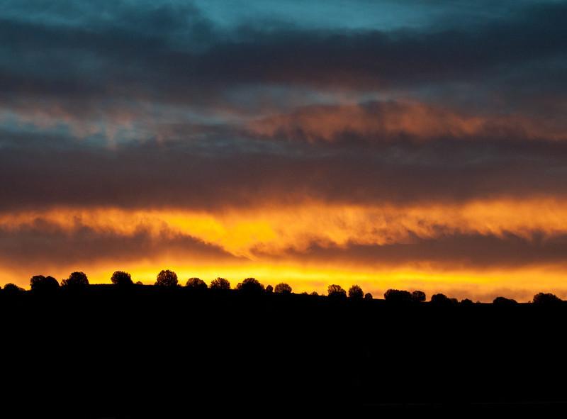 Sunset over Chino Valley, Arizona