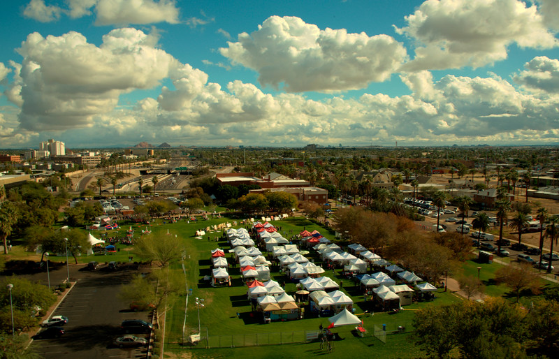 Phoenix Festival of the Arts From the Rooftop! Patrick Rapps Photographer