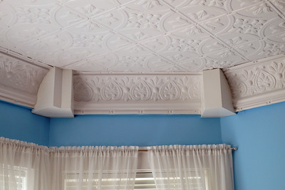 Old tin celling replaced last year