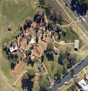 Bathurst Victoria Park Aerial View