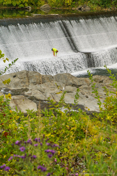Taftsville Covered Bridge and Falls-3