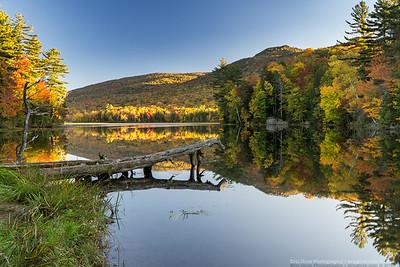 Leffert Pond Sunset