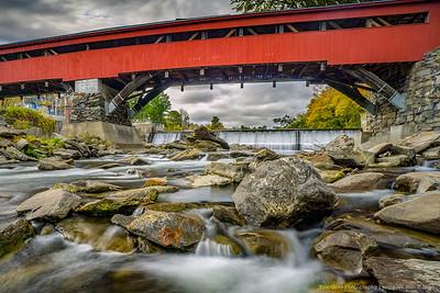 Taftsville Covered Bridge Crop-1