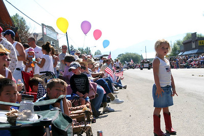 The 4th of July Parade in Ennis, Montana is the biggest show in such a small northern town.  Country patriotism shines through.
