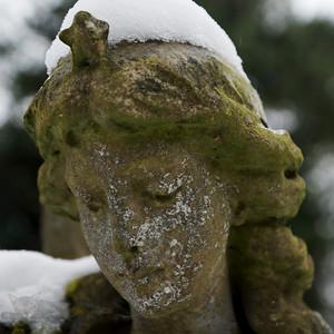 Statue in Church Graveyard