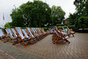 Deckchairs in the Park