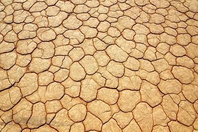 Hard Baked Gound Pattern - Namibia