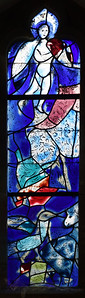 Chagall Window in All Saints' Church Tudeley