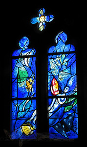 Tudeley - All Saints' Church - Stained Glass Window by Marc Chagall - Kent - England - 2012