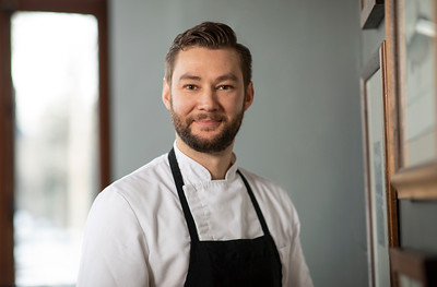 Deane House Chef Chris Barton