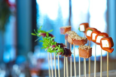 River Café Holiday Skewered Canapés