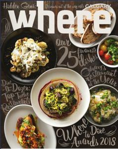 2017 - Where to Dine Awards
