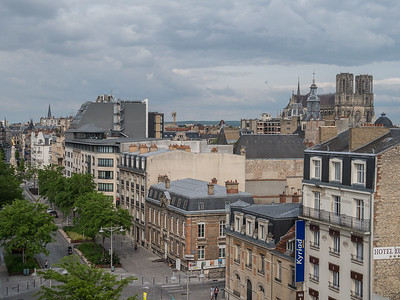 Reims Cathedral from my hotel