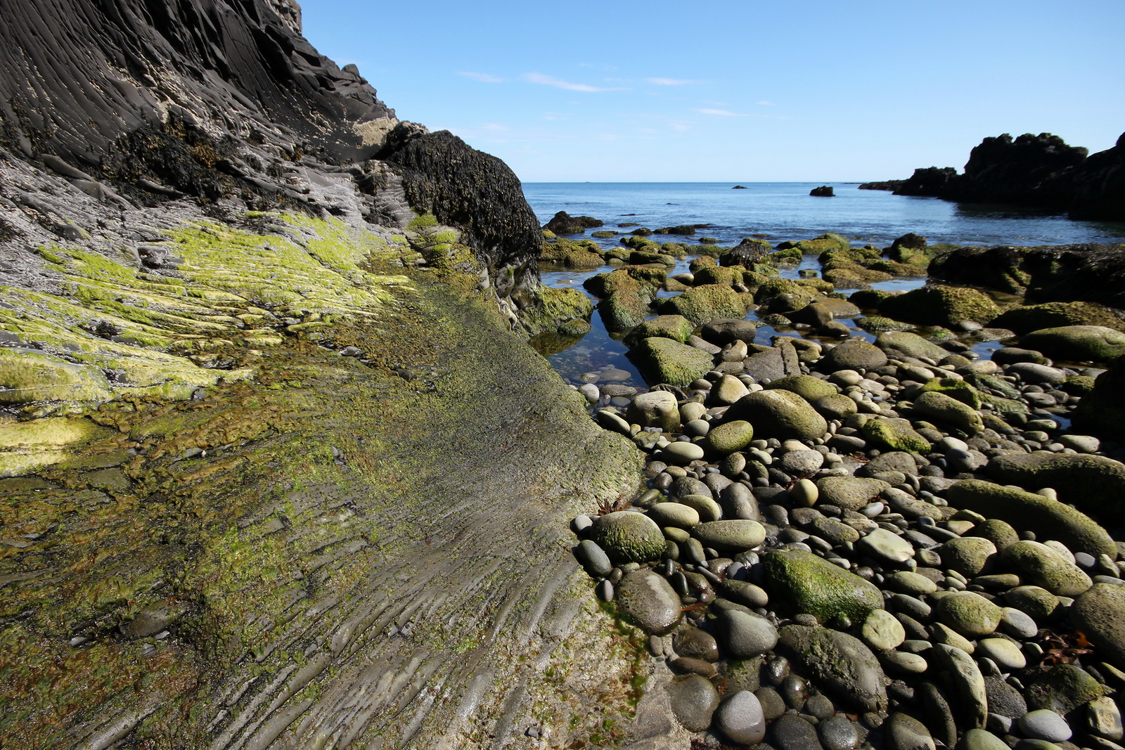 Die Küste von Hellnar