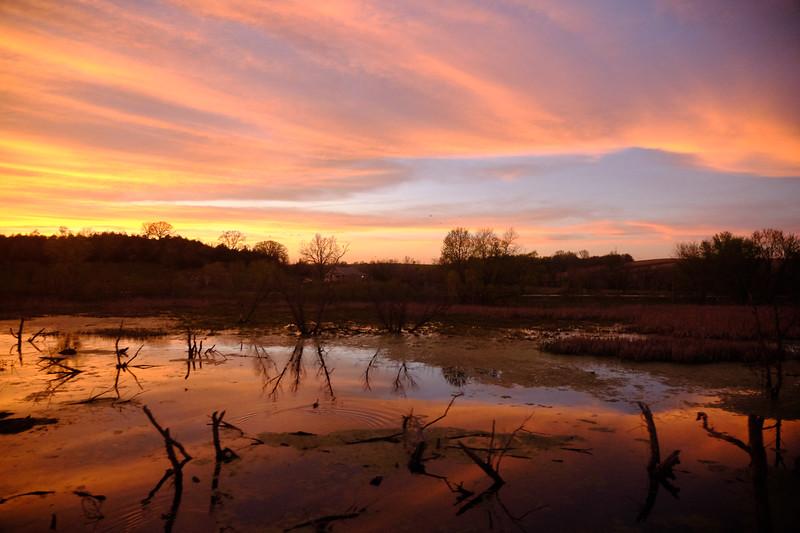 iowa sunset