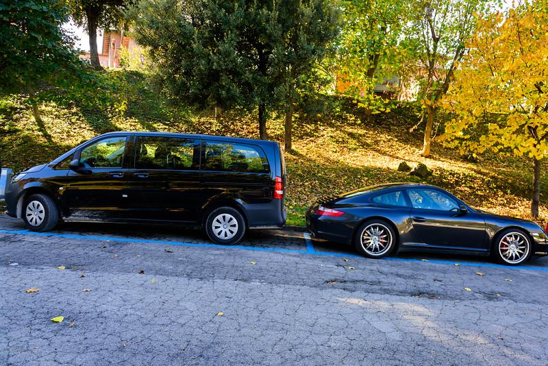 Parking in Montalcino
