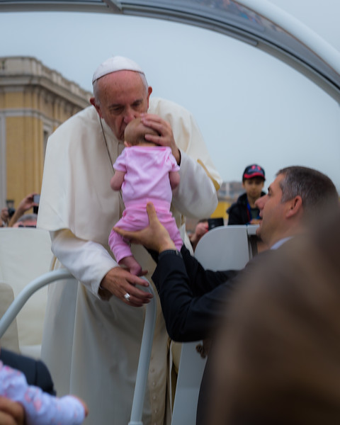 Blessed by Pope Francis