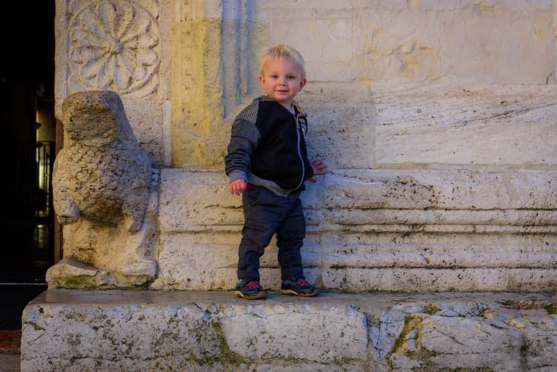 In Front of the Cattedrale di San Rufino