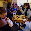 Breakfast in Montalcino