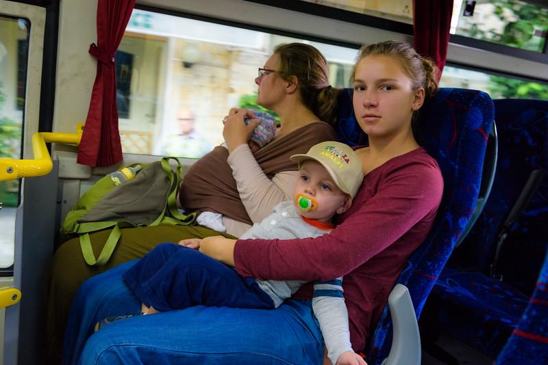 Riding the Bus to Sorrento