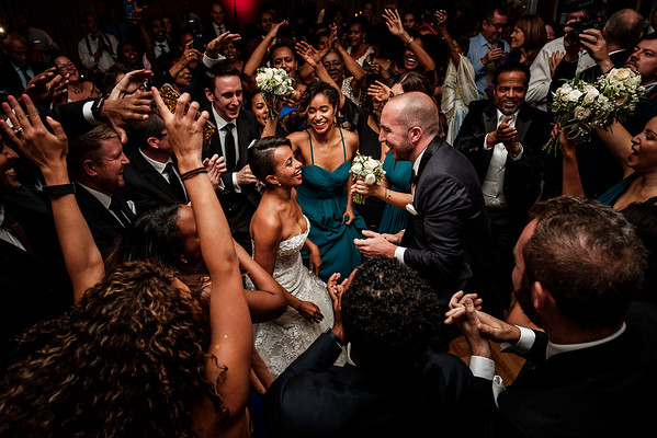 First dance with friends.