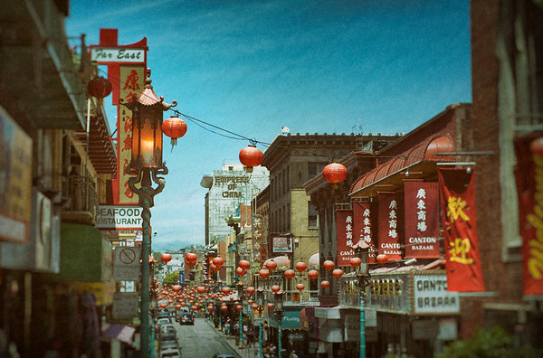 Lanterns, Chinatown, SF