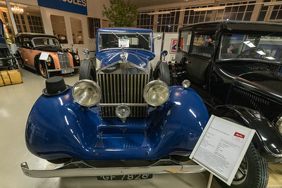 Rolls Royce 20/25 HP (1929), in Merks Motor Museum, Nürnberg