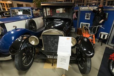 Ford Modell T Doctor's Coupé, in Merks Motor Museum, Nürnberg