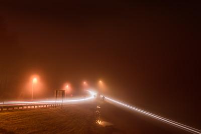 Foggy Soduim Morning