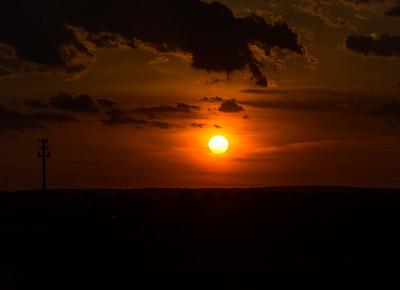 Turnpike Sunset
