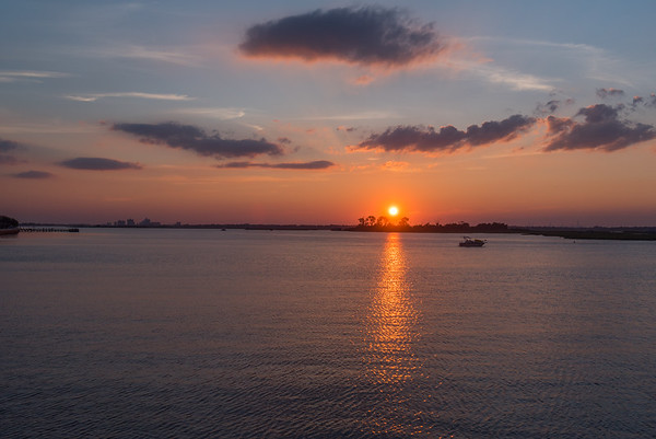 Channel Sunset