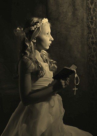 Sepia Finish Portrait