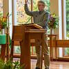 Andy Krikowa(sp?) Leads the Parish Psalm