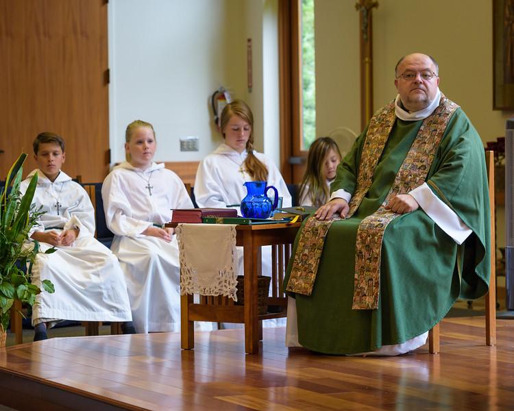 Fr. David and Alter Servers