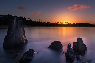 Coles Beach Sunset 3