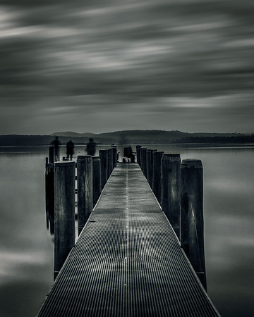 Squeaking Point Jetty Black and White 1