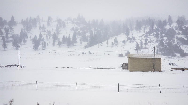 The weather getting bad in Montana