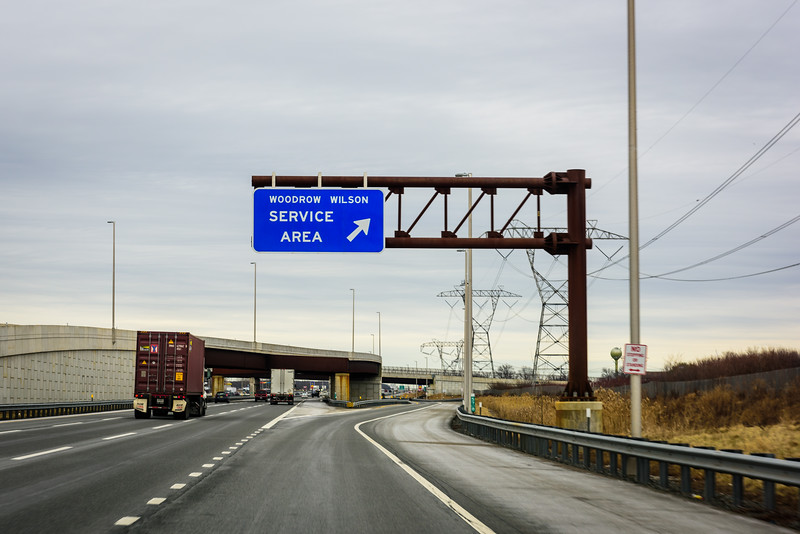 Baltimore to Boston on I-95 North.  The toll system requires these Service Area along the highways.  It's actually a neat concept, but the ones in this part of the country are dirty, smelly affairs, staffed by surely individuals.
