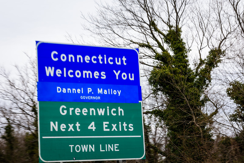 We were on our way to Boston, but the A/T Temp light came on in our car.  Turns out this was a serious issue, and we ended up spending much more time in Connecticut than we'd planned.