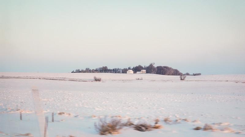 Dawn in Iowa