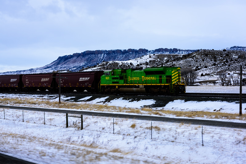 Moving West through Montana