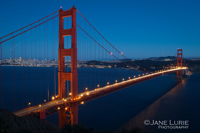 Blue Hour, Golden Gate Bridge