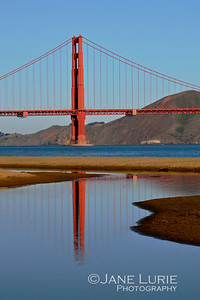 Golden Gate and Reflection